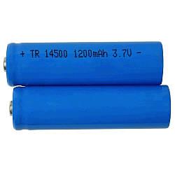 Аккумуляторная Li-ion батарея Police 14500 3.7V/2200mA/h
