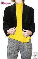 Женское болеро черное Monsoon пиджак жакет р. М 48