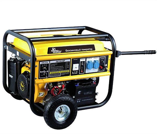 Бензиновый генератор Кентавр ЛБГ 505ЭКР с электростартером