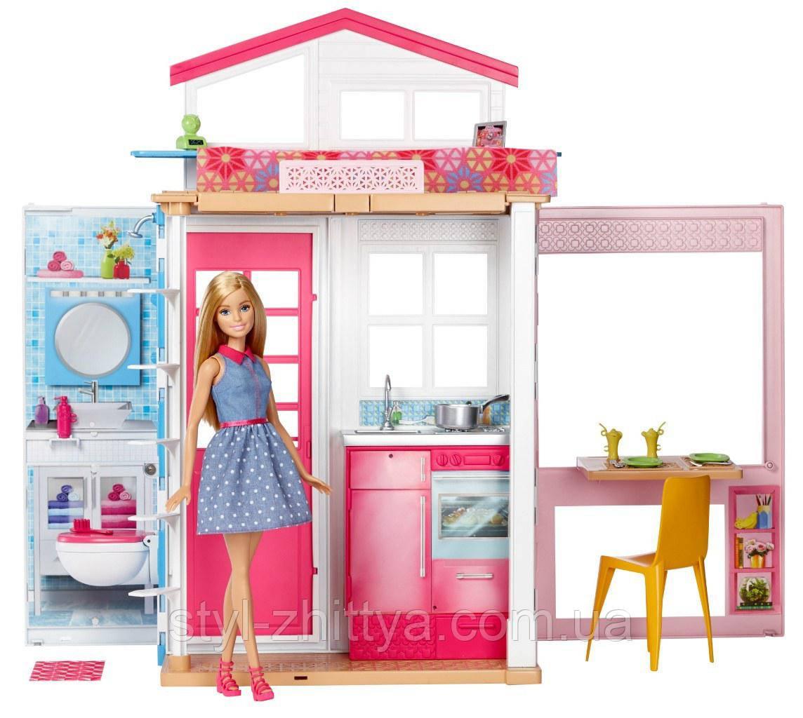 Розкладний ляльковий будиночок Barbie