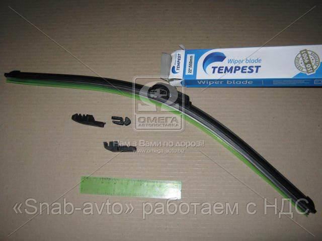 Щетка стеклоочистителя бескаркасная 22/550мм. (с адаптерами)  (арт. TPS-22FL)