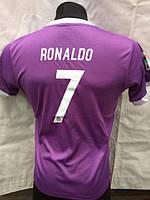 Футбольная форма Real Madrid Ronaldo сиреневая подростковая, фото 1
