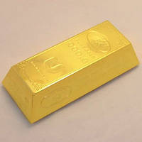 Подарок Зажигалка Слиток золота Огромная подарок мужчине