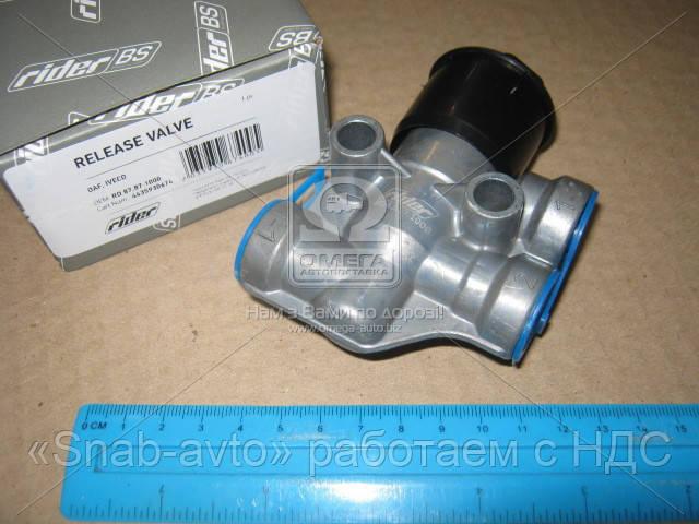 Клапан растормаживания DAF, IVECO (RIDER) (арт. RD 87.87.1000), ABHZX