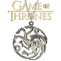 Кулон по мотивам Игры престолов Дракон Таргариенов Game of Thrones