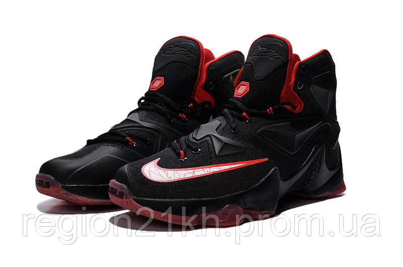 Баскетбольные кроссовки Nike LeBron XIII 13 Bred Black Red