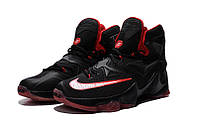 Баскетбольные кроссовки Nike LeBron XIII 13 Bred Black Red, фото 1