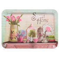 """Поднос раздаточный """"Sweet home"""" R81953, 40*27см, меламиновый, разнос пластиковый"""