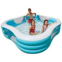 Детский надувной бассейн Intex 57495 «Акварена» 229х229х56 см
