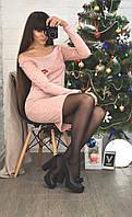 """Платье """"Эмилия"""" цвет персиковый размер S(42) - M(44)"""
