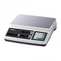 Торговые весы без стойки CAS RP-B 15кг (320×210мм)