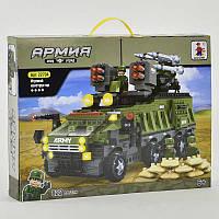 Конструктор AUSINI Армия 822 детали, в коробке. Детский конструктор для мальчиков, игровой набор