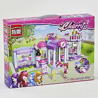 Конструктор Салон красоты для девочек, аналог Лего, 487 деталей. Детский игровой набор Парикмахерская