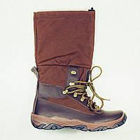 Зимние Комби-ботинки Apache Апачи амфибия коричневые, фото 1