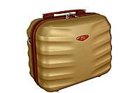 Кейс RGL 6881 Малый, Шампань, дорожный кейс, дорожный чемодан