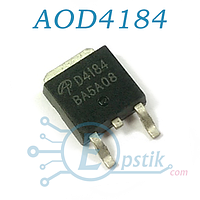 AOD4184, Mosfet транзистор N-канал, 40В 50А, TO252