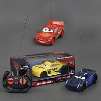 Машина Тачки р/у, 3 цвета, работает от батареек, в коробке. Машинка на пульте для детей от 3 лет