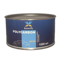 Армированная углеволокном конструкционная полиэфирная шпатлевка Butterfly Polycarbon