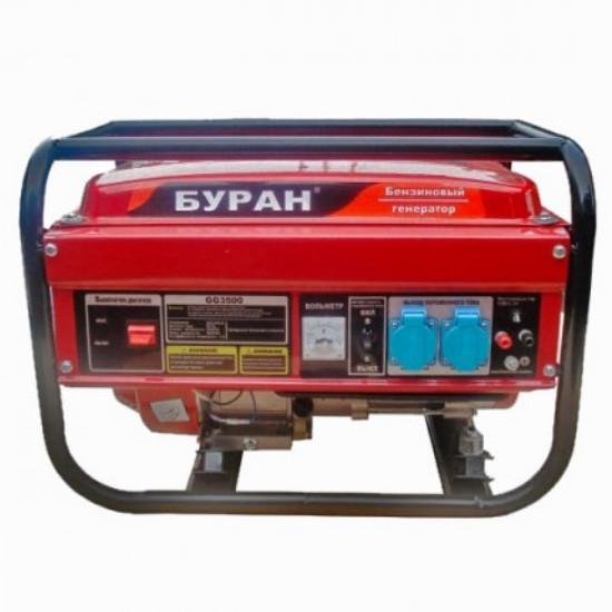 Бензиновий генератор Буран GG3500