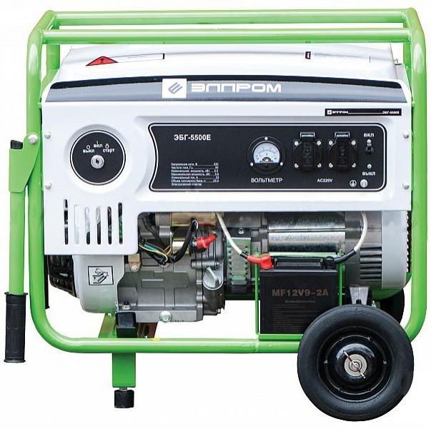 Бензиновый генератор Элпром ЭБГ-5500Е с электростартером