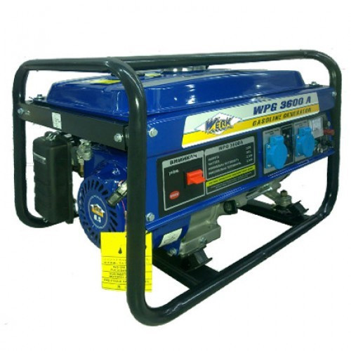 Бензиновий генератор WERK WPG3600A