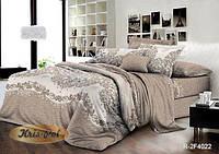 Полуторный комплект постельного белья 150*220 ранфорс (8140) TM KRISPOL Україна