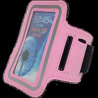 Чехол на руку для смартфона розовый Tunturi 14TUSRU162
