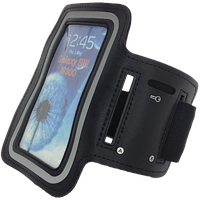 Чехол на руку для смартфона черный Tunturi 14TUSRU161
