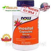 Inositol, Инозитол 500 мг 100 капсул купить, Киев, цена, отзывы, инструкция