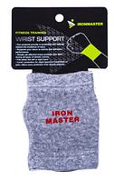 Фиксатор запястья IronMaster 1шт,40% latex/30% bamboo/30% cotton Распродажа!