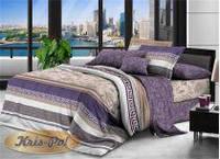 Двуспальный комплект постельного белья 180*220 ранфорс (7662) TM KRISPOL Украина