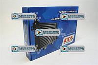 Радиатор охлаждения 3302, 2705, 2217, Газель крепление штырь 2-рядный алюминиевый LSA ГАЗ-2217 (Соболь) (330242-1301.000)