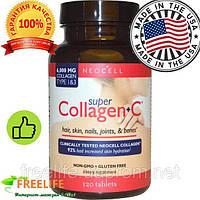 Супер Коллаген, Тип 1 и 3 (Super Collagen, Type 1 & 3), 120 таблеток купить для кожи