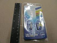 Лампа LED/LL120101-5W 120 T5 12В, W2х4.6d, 1-d5, бел. (Iсkра)