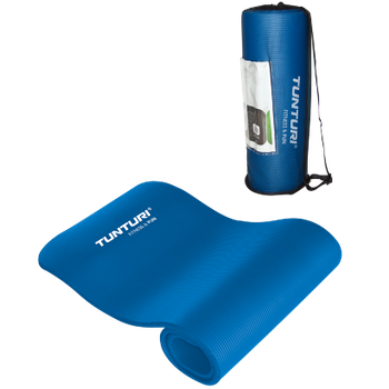 Коврик для фитнеса Tunturi NBR Blue 14TUSFU133