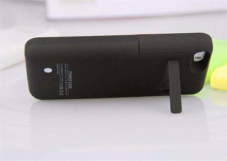 Чехол резервная батарея для Iphone 5, 5s, SE акб бампер power case, фото 2