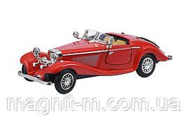 Машинка Same Toy Vintage Car со светом и звуком красный (HY62-2Ut-2)