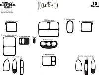 Накладки на панель Renault Clio - Symbol (2005-2009)