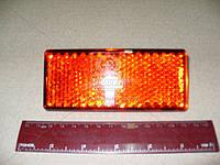 Световозвращатель (катафот) заднего бампера красный Н.О. (клипса) ГАЗ 2217,2705 (производство ОСВАР) (арт. 3032.3731)