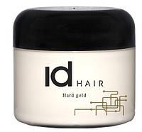 Id Hair Origonal Hard Gold - Воск для стайлинга коротких волос сильной фиксации, 100 мл