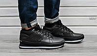 Мужские зимние кроссовки New Balance 754 Fur & Leather 5 цвета черный