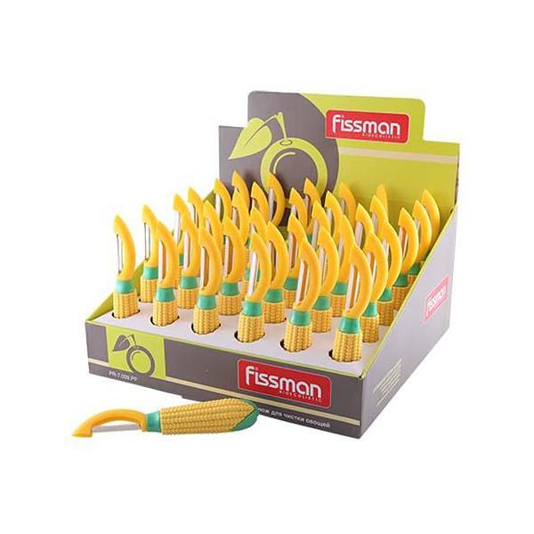 Нож для чистки овощей в форме кукурузы FISSMAN