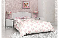 Подростковая кровать «Мишка» для детей с ящиком (размер 120*190 см) ТМ «Вальтер» Белый