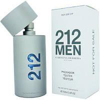 Духи Carolina Herrera 212 Men Tester Для Мужчин 100 ml