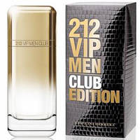 Туалетная вода Carolina Herrera 212 VIP Men Club Edition Для Мужчин 100 ml