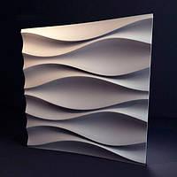 Декоративные гипсовые 3D панели «Бутоны»