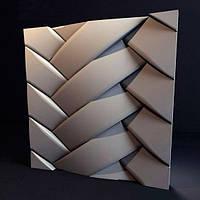 Декоративные гипсовые 3D панели «Переплет»