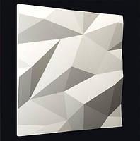 Декоративные гипсовые 3D панели «Кристаллы»