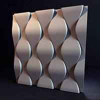 Декоративные гипсовые 3D панели «Чешуя»