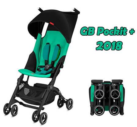 Прогулочная коляска GB Pockit + 2018, фото 2